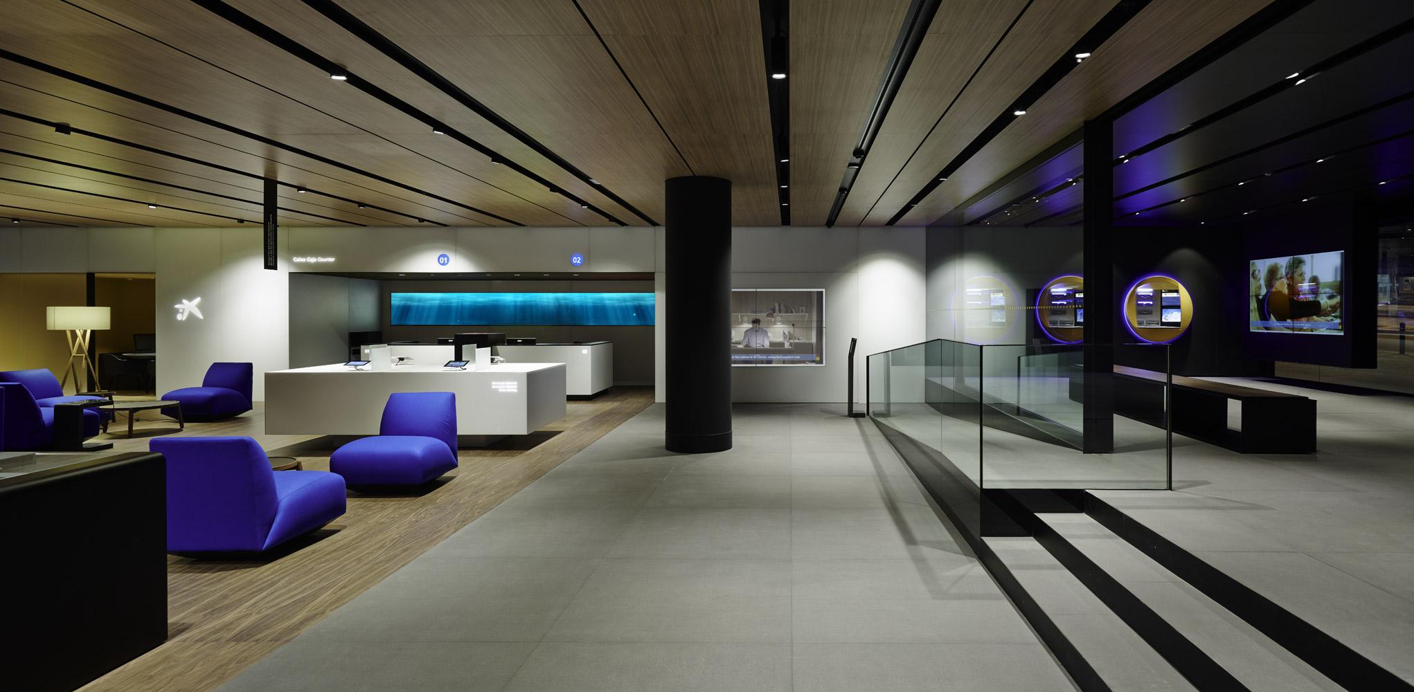 Francesc Rifé Studio : offices » CAIXABANK Barcelona